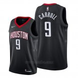 Camiseta Houston Rockets Demarre Carroll #9 Statement 2019-20 Negro