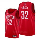 Camiseta Houston Rockets Jeff Green #32 Earned 2019-20 Rojo