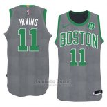 Camiseta Navidad 2018 Boston Celtics Kyrie Irving #11 Verde