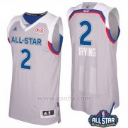 Camiseta All Star 2017 Cleveland Cavaliers Kyrie Irving #2 Gris