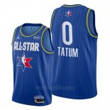 Camiseta All Star 2020 Boston Celtics Jayson Tatum #0 Azul