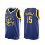 Camiseta Golden State Warriors Mychal Mulder #15 Icon Azul