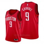 Camiseta Houston Rockets Demarre Carroll #9 Earned 2019-20 Rojo