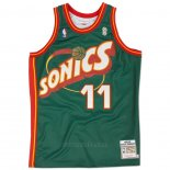 Camiseta Seattle SuperSonics Detlef Schrempf #11 Historic Retro Verde