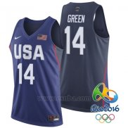 Camiseta USA 2016 Draymond Green #14 Azul