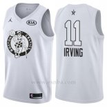 Camiseta All Star 2018 Boston Celtics Kyrie Irving #11 Blanco