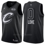 Camiseta All Star 2018 Cleveland Cavaliers Kevin Love #0 Negro