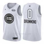 Camiseta All Star 2018 Detroit Pistons Andre Drummond #0 Blanco