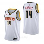 Camiseta Denver Nuggets Gary Harris #14 Association Blanco