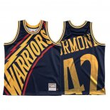 Camiseta Golden State Warriors Nathaniel Thurmond #42 Mitchell & Ness Big Face Azul