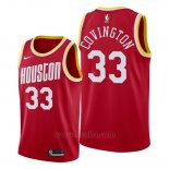 Camiseta Houston Rockets Robert Covington #33 Classic 2019-20 Rojo