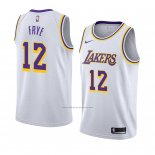 Camiseta Los Angeles Lakers Channing Frye #12 Association 2018-19 Blanco