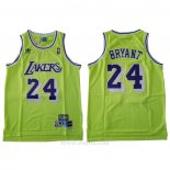 Camiseta Los Angeles Lakers Kobe Bryant #24 Verde