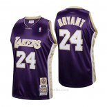 Camiseta Los Angeles Lakers LeBron James #24 Hardwood Classics Hall Of Fame 2020 Violeta