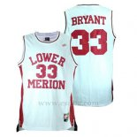 Camiseta Lower Merion Kobe Bryant #33 Blanco